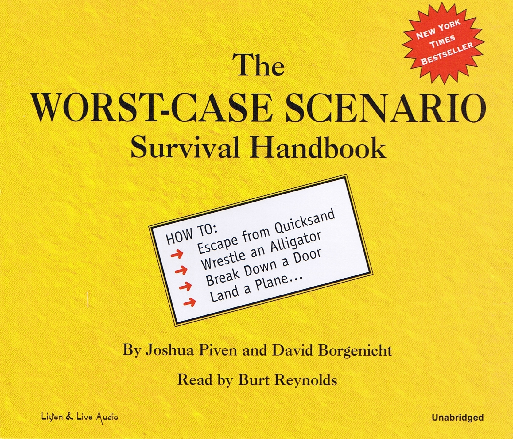 The Worst-Case Scenario Survival Handbook [2CD]