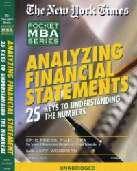 Analyzing Financial Statements [2CS]