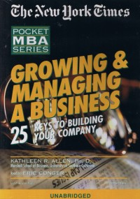 Growing & Managing A Business [2CS]