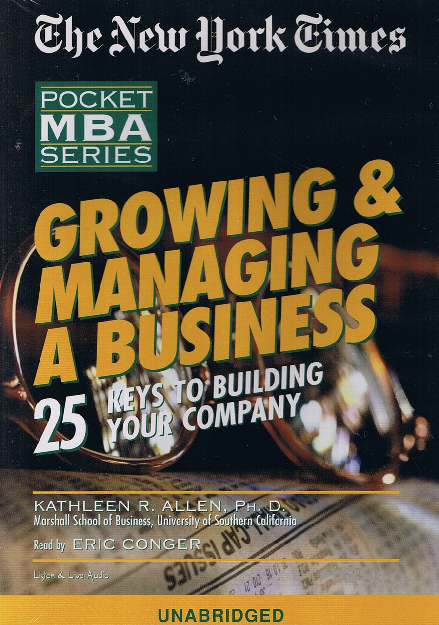 Growing & Managing A Business [2CD]