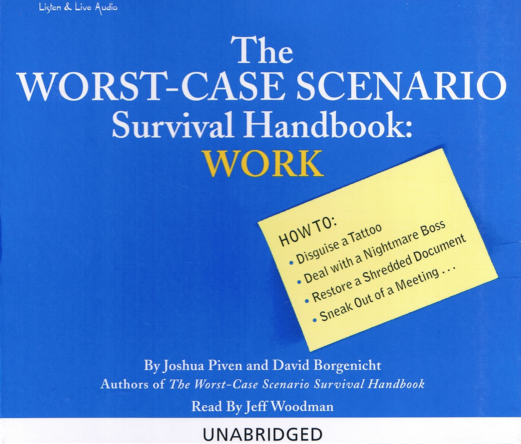 The Worst-Case Scenario Survival Handbook: Work [2CD]