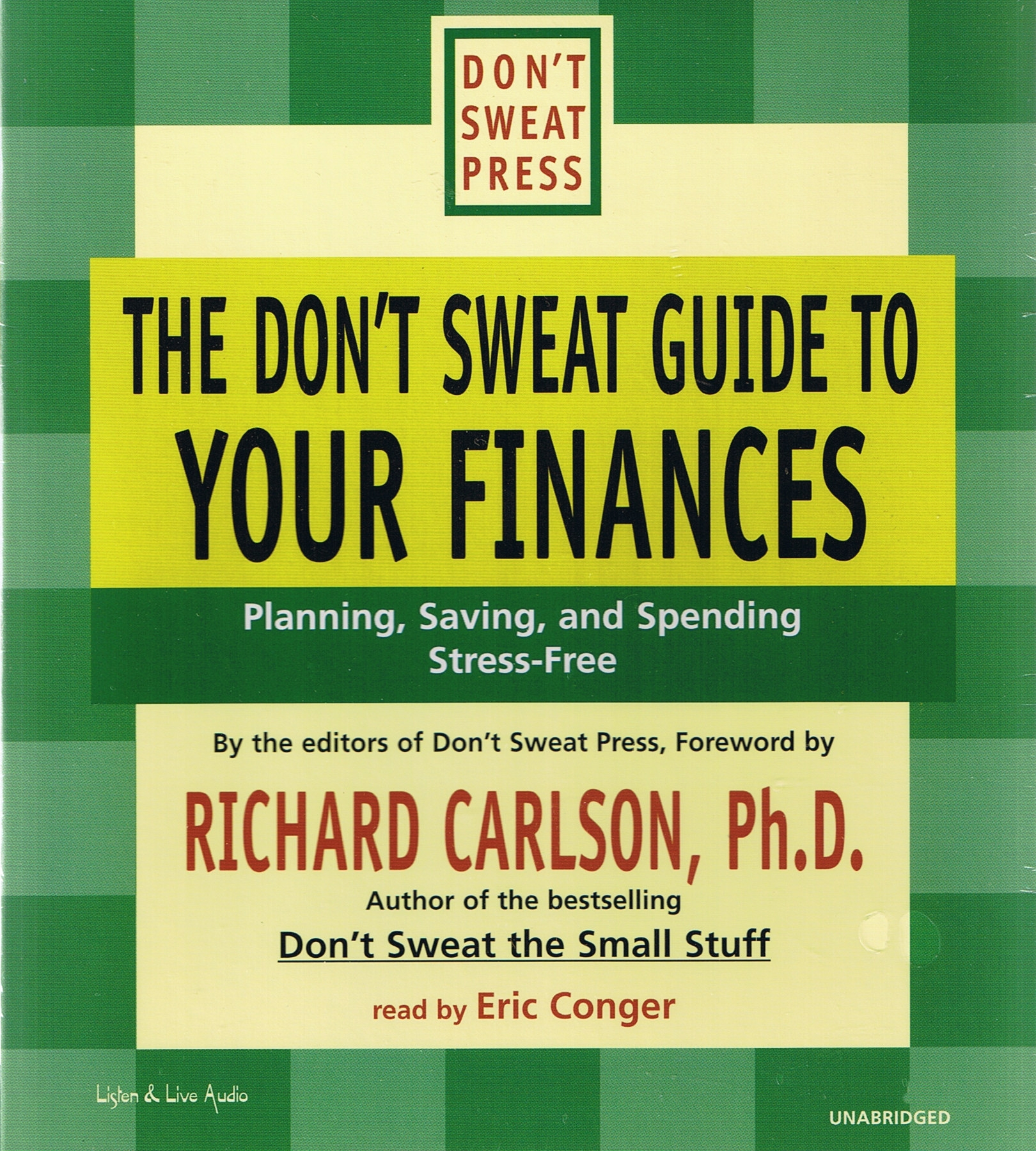 The Don't Sweat Guide To Your Finances [DD]
