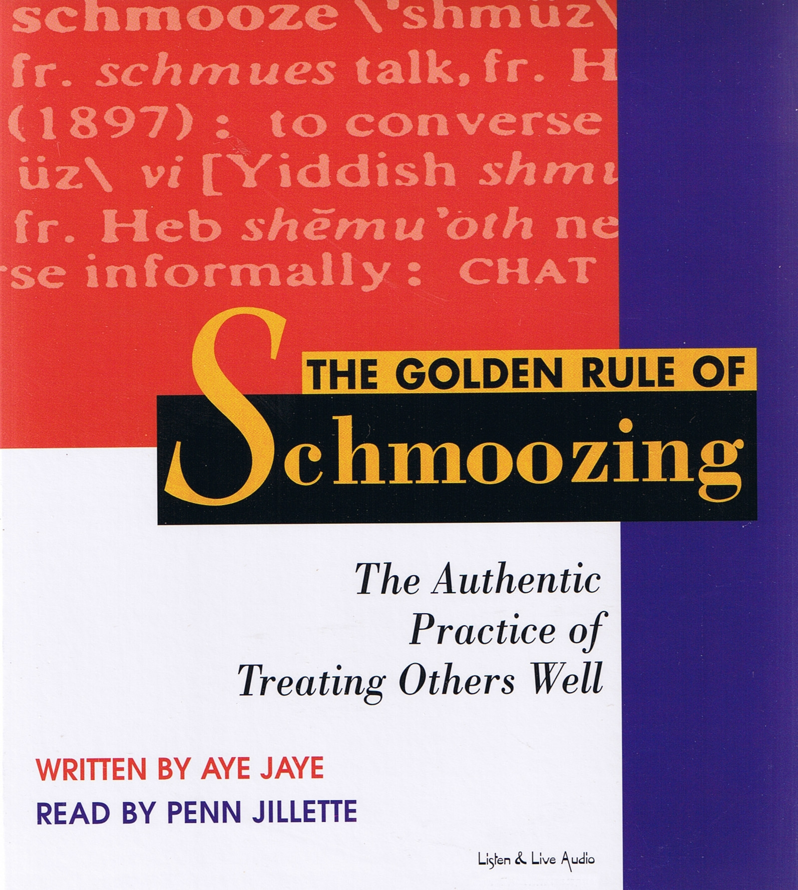 The Golden Rule Of Schmoozing [2CS]