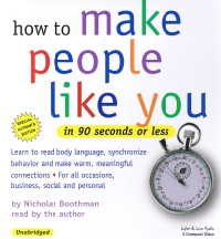 How To Make People Like You In 90 Seconds Or Less [3CD]