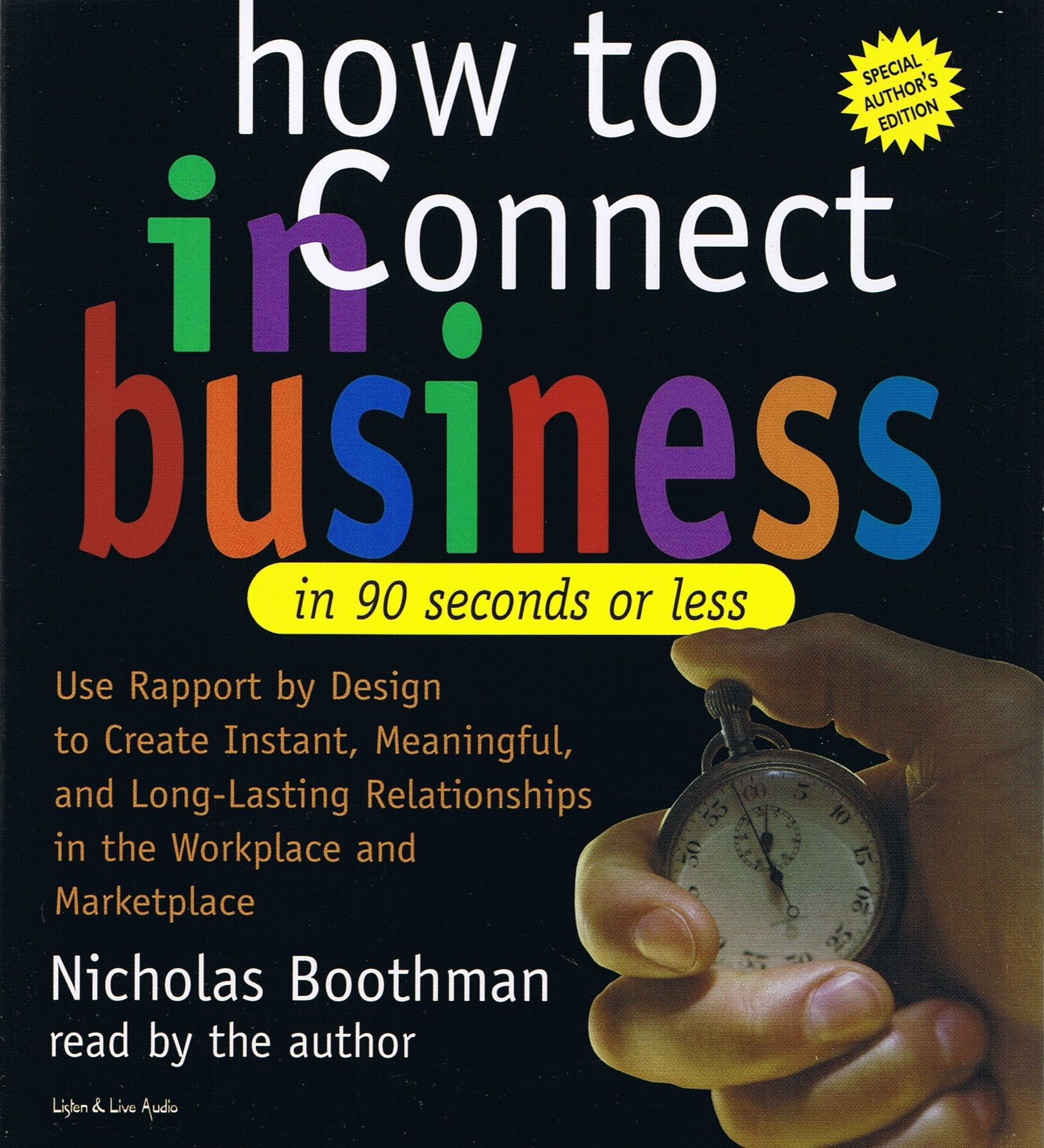 How To Connect In Business In 90 Seconds Or Less [2CS]