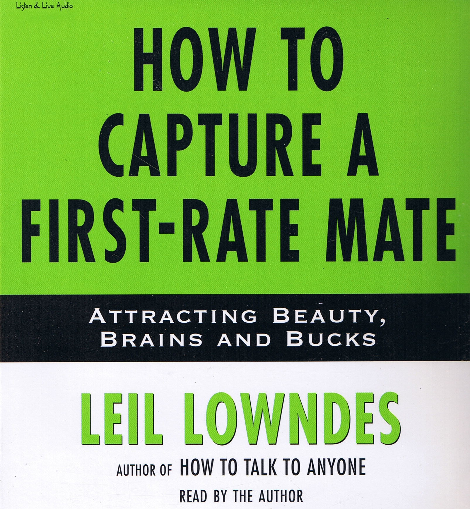 How To Capture A First-Rate Mate [DD]