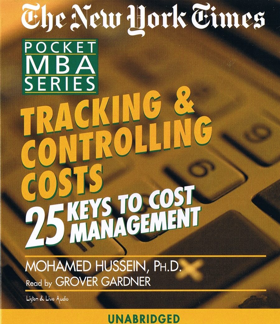 Tracking & Controlling Costs [3CD]