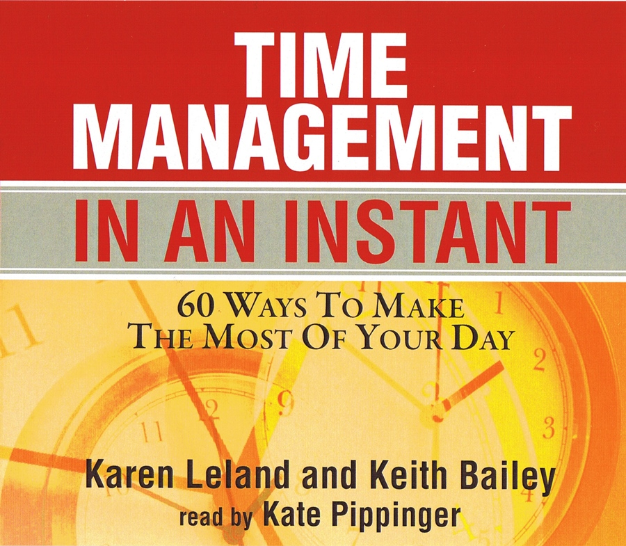 Time Management In An Instant [3CD]