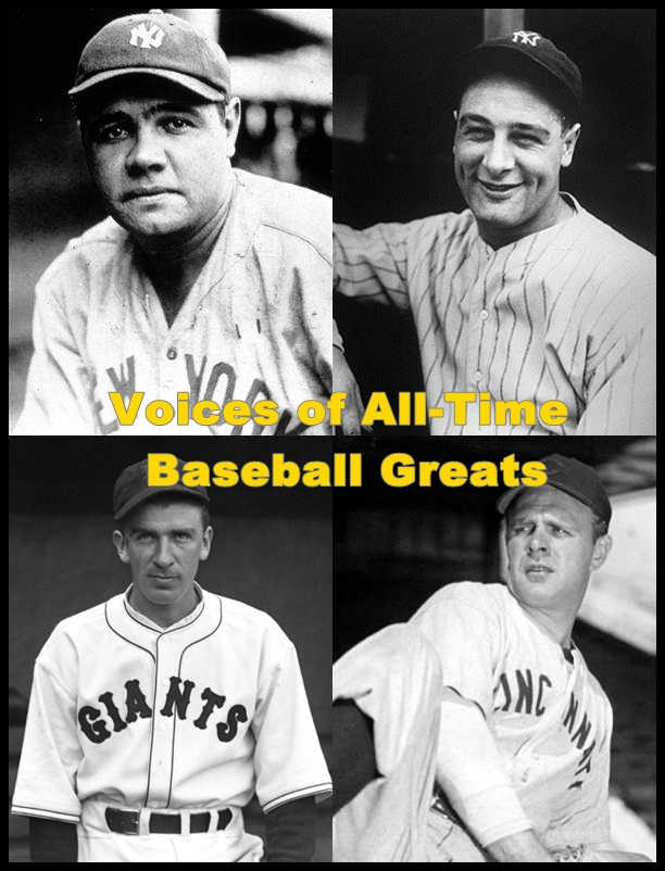 Voices of All-Time Baseball Greats [DD]
