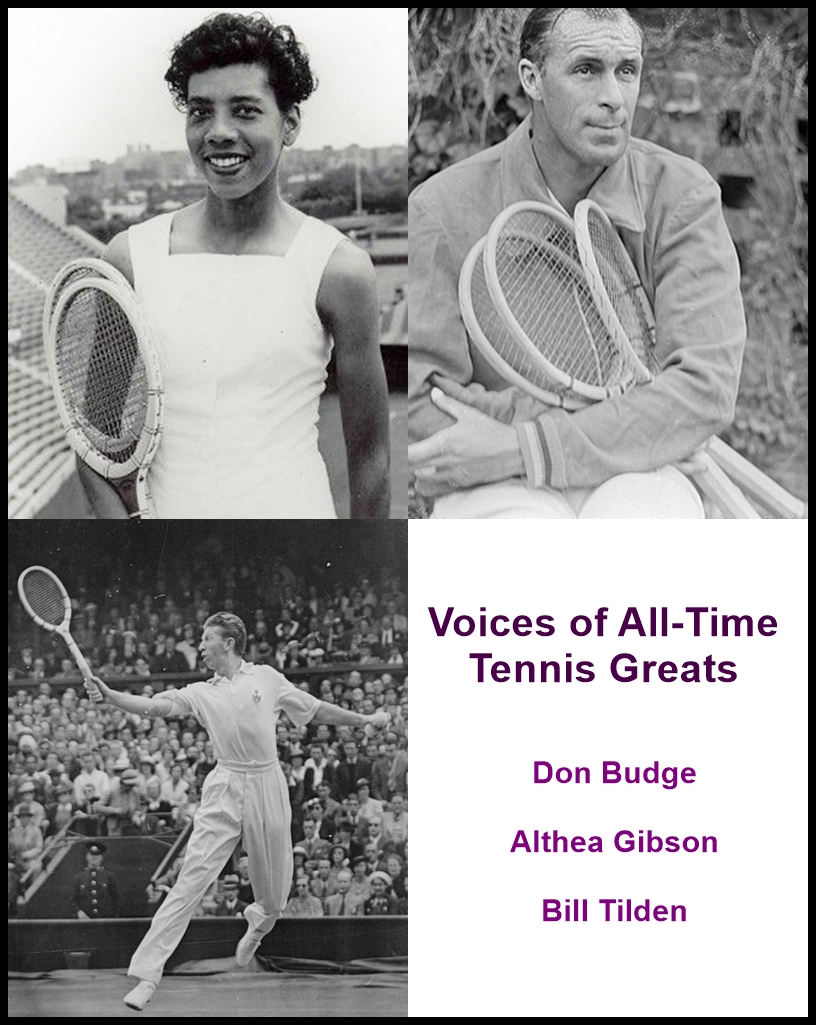 Voices of All-Time Tennis Greats [DD]