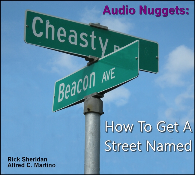 Audio Nuggets: How To Get A Street Named [DD]