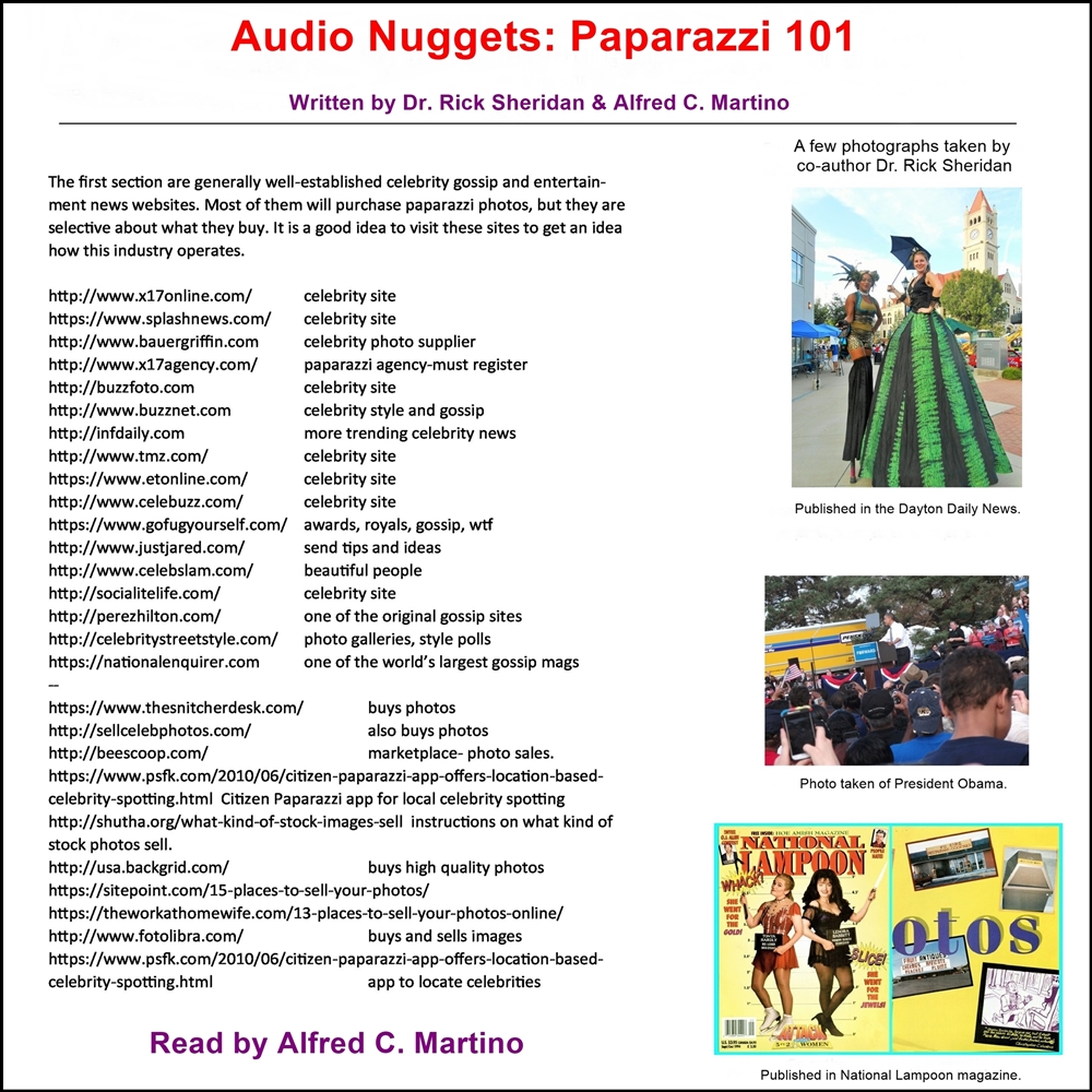 Audio Nuggets: Paparazzi 101 [DD]