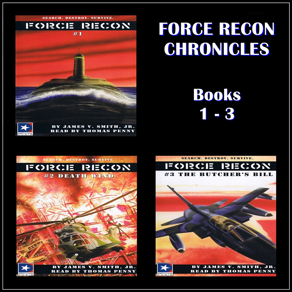 Force Recon Chronicles Books 1-3 [DD]