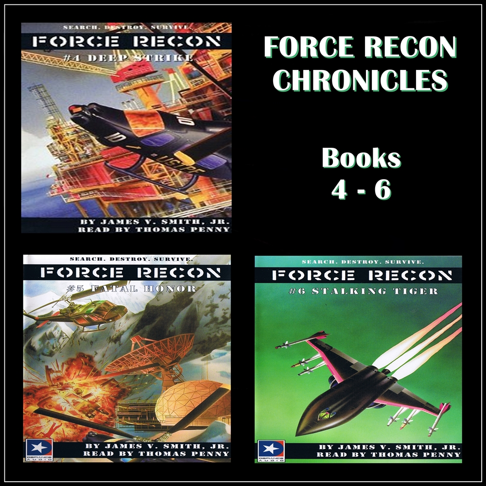 Force Recon Chronicles Books 4-6 [DD]