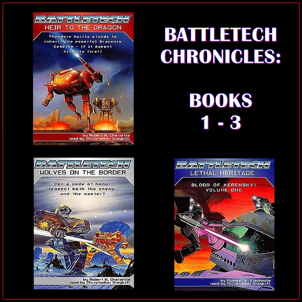 BattleTech Chronicles Books 1-3 [DD]