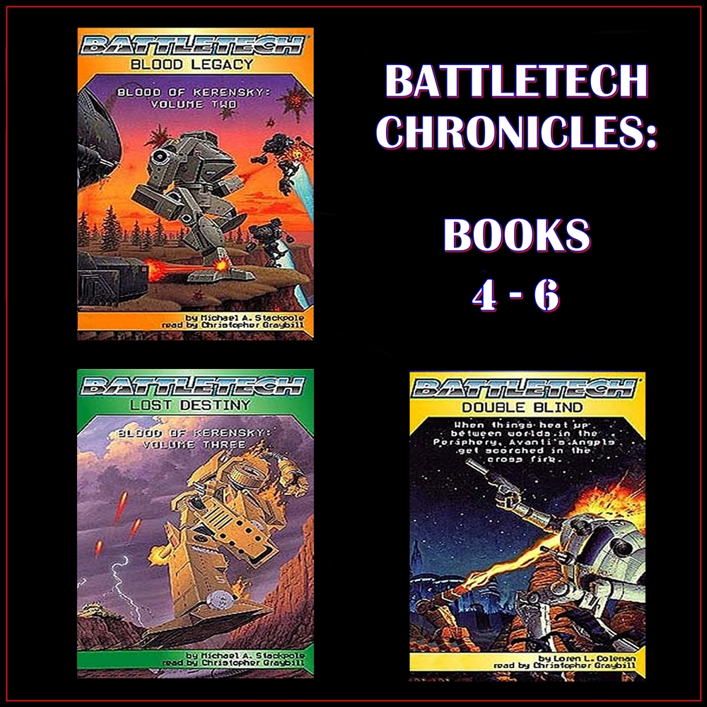BattleTech Chronicles Books 4-6 [DD]